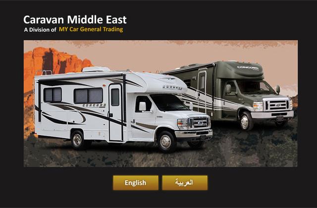 Caravans Middle East